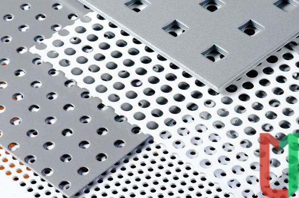 Перфорированный алюминиевый лист