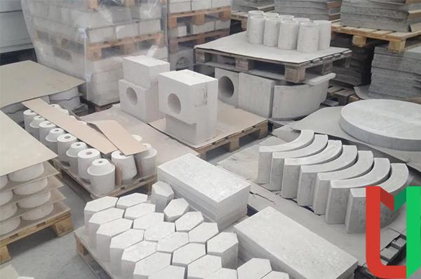 Шамотные бетонные изделия
