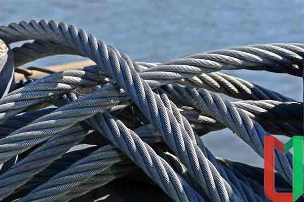 Морской канат стальной (корабельный)